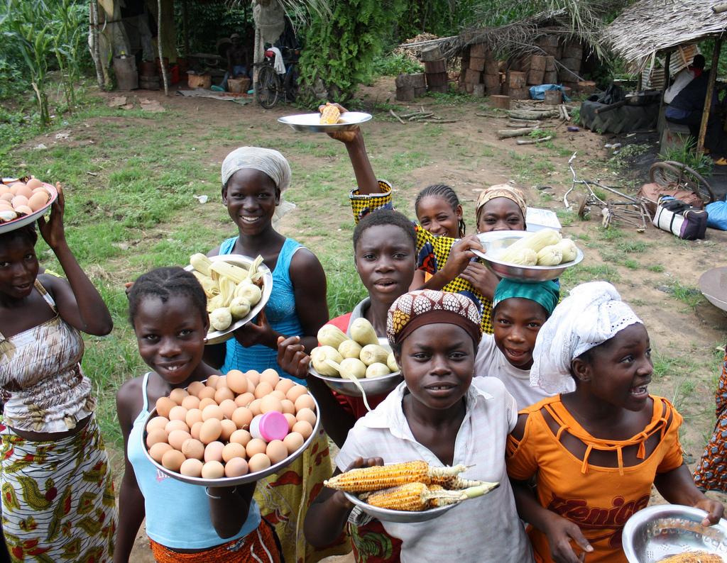 Sprekende stoffen uit de Ivoorkust