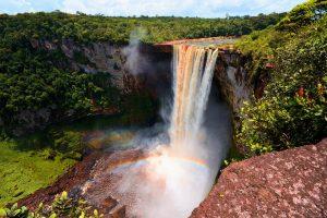 De vijf Guyana's, de Verenigde Naties van Zuid-Amerika