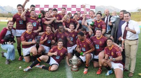 Recente overwinning van de Maties, het US/SUN Rugbyteam. Bron: Maties Rugby Club Facebook