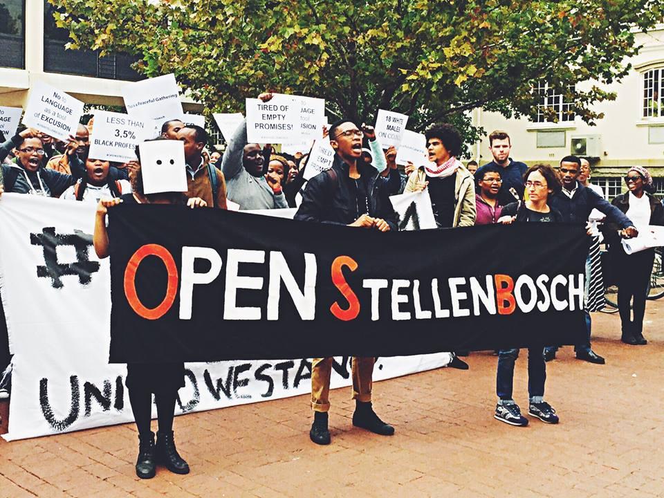 De taalstrijd brandt weer los in Stellenbosch
