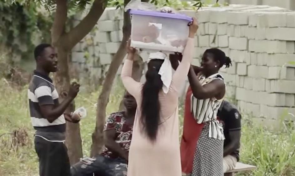 Oliebollen in Ghana